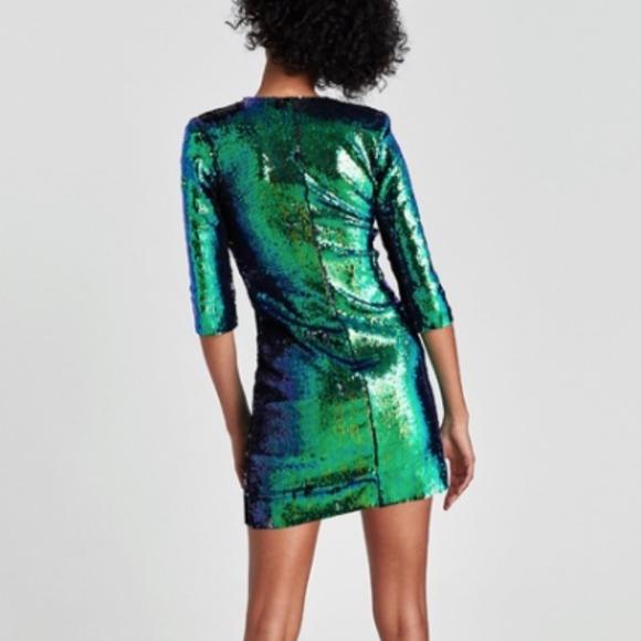 5d81a819 Zara Two-Tone Sequined Dress. NWT. Zara. M_5b4d1001819e9069371b2bcc.  M_5b4d10013c984402ea18093d. M_5b4d10012e1478ba64cb0dcd